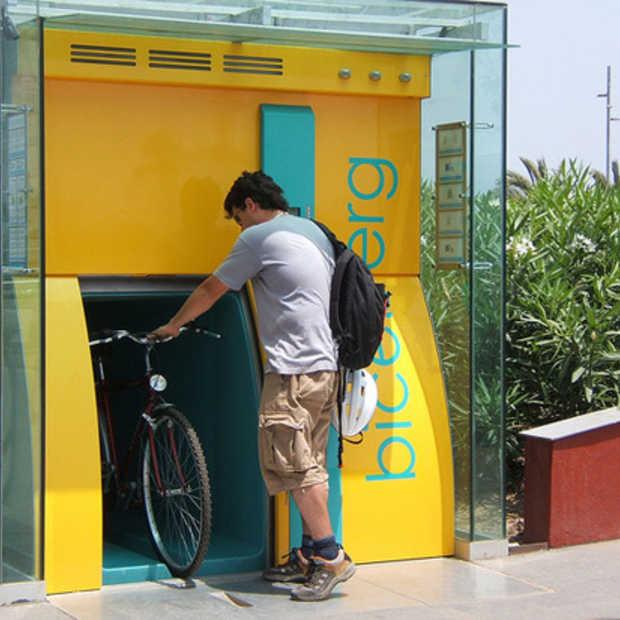 Biceberg - ondergrondse parkeerplaats voor fietsen