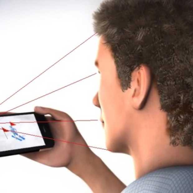 Binnenkort je smartphone bedienen via head tracking? Umoove laat zien dat het kan