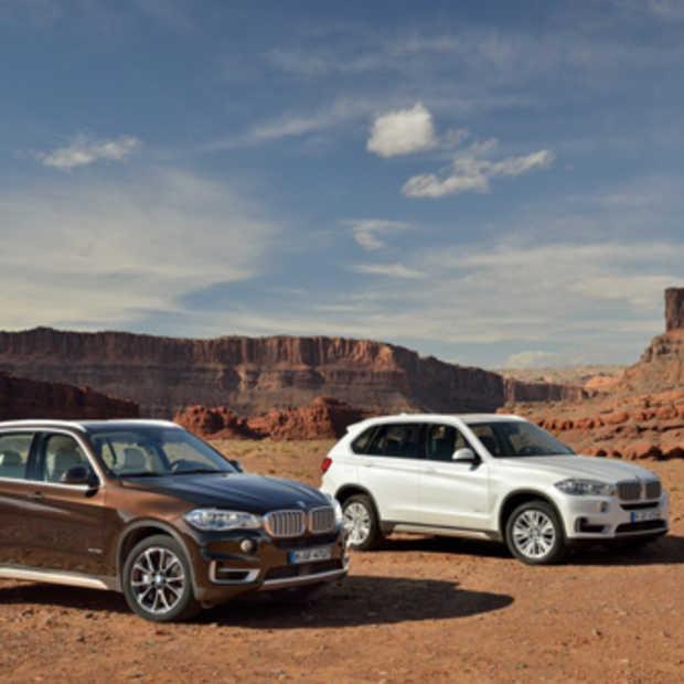 BMW stelt de nieuwe BMW X5 voor, eerder evolutie dan revolutie