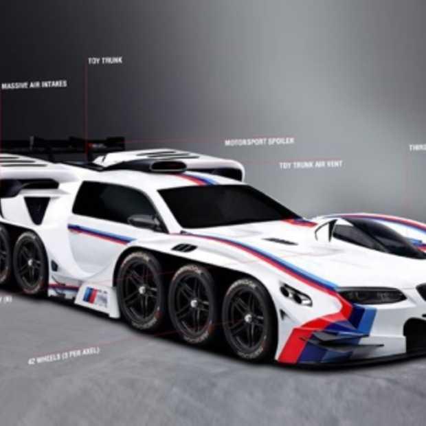 BMW USA maakt Eli's droom waar met 42 wielen en 19 motoren