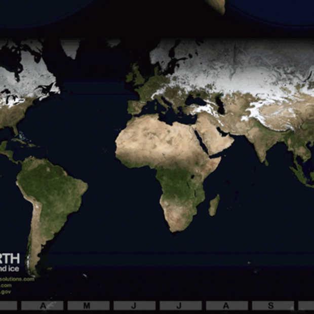 Breathing Earth: zie de aarde ademen in deze fantastische visualisaties