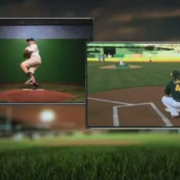 Dankzij Google Fiber gooit zieke Amerikaanse jongeren op 3 000 km afstand eerste pitch tijdens baseball game