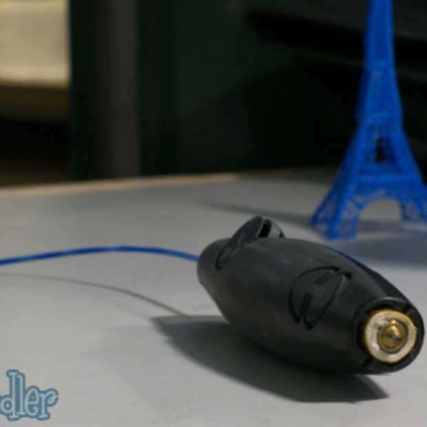 De 3Doodler: 's werelds eerste 3D-pen