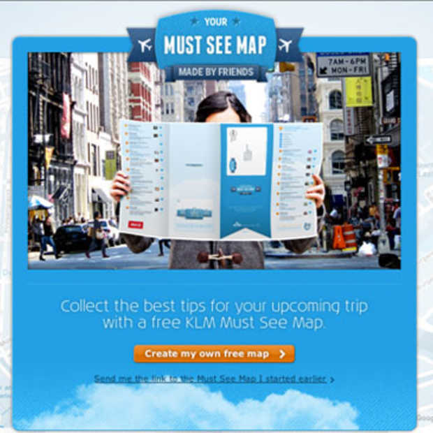 De Must See Maps van KLM