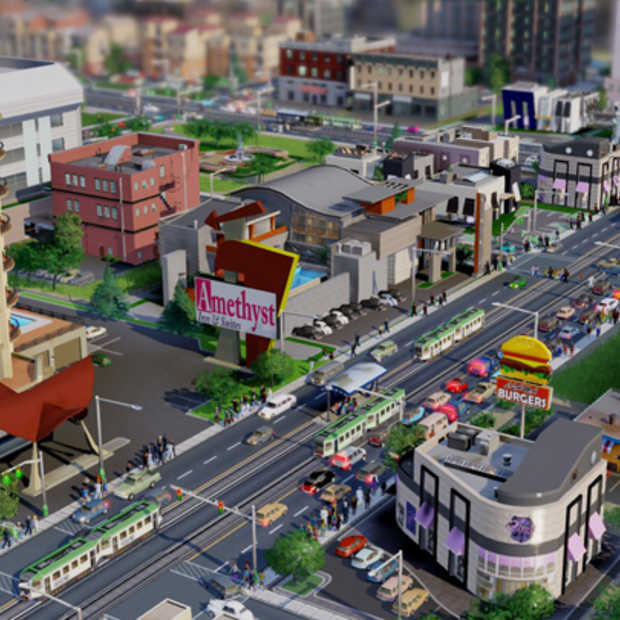 De nieuwe versie van SimCity