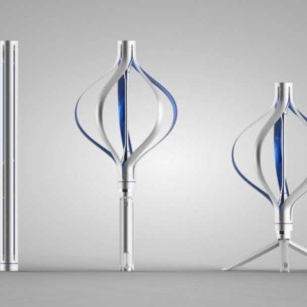 De persoonlijke windturbine