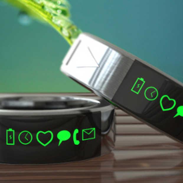 De Smarty Ring concurrentie voor de Smartwatch?