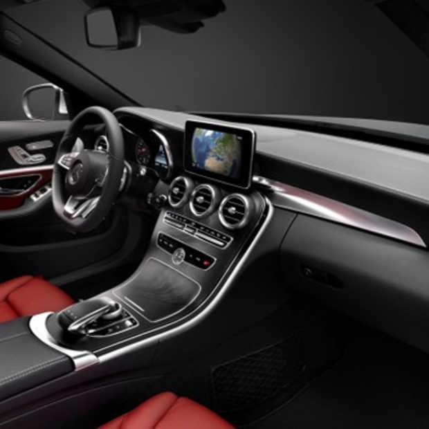 Dit is het dashboard van de nieuwe Mercedes C-klasse
