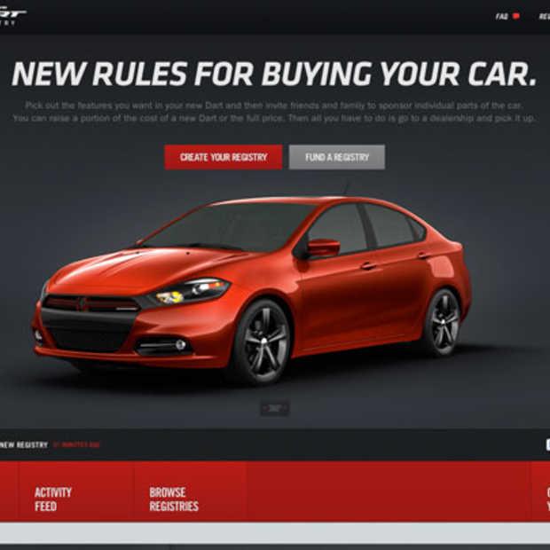 Dodge Dart Registry: koop eens een auto à la Kickstarter