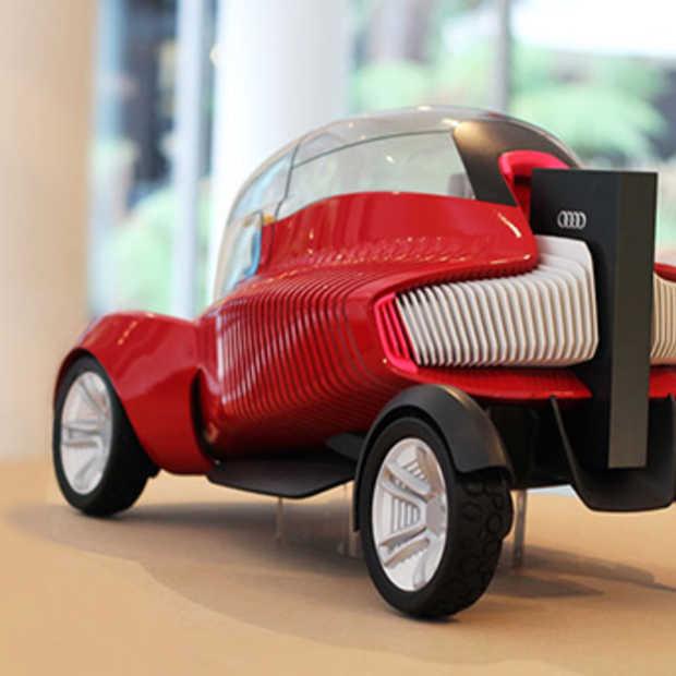 Een 3D geprinte concept car voor Audi