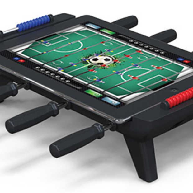 Een echte iPad Foosball tafel