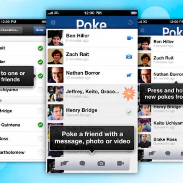 Facebook introduceert Poke app voor mobile