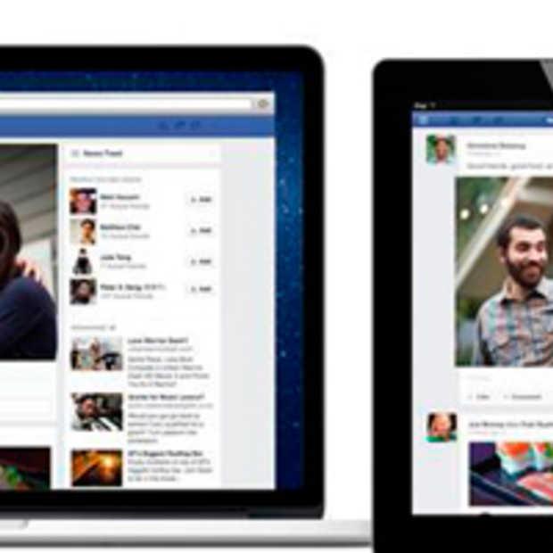 Facebook kondigt nieuwe 'news feed' design aan