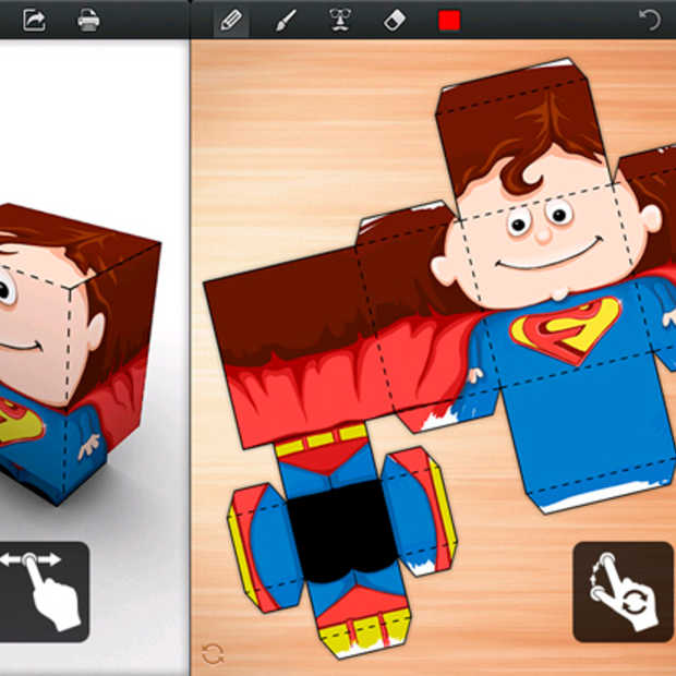 Foldify: een fantastisch leuke 3D papierkunst app voor de iPad