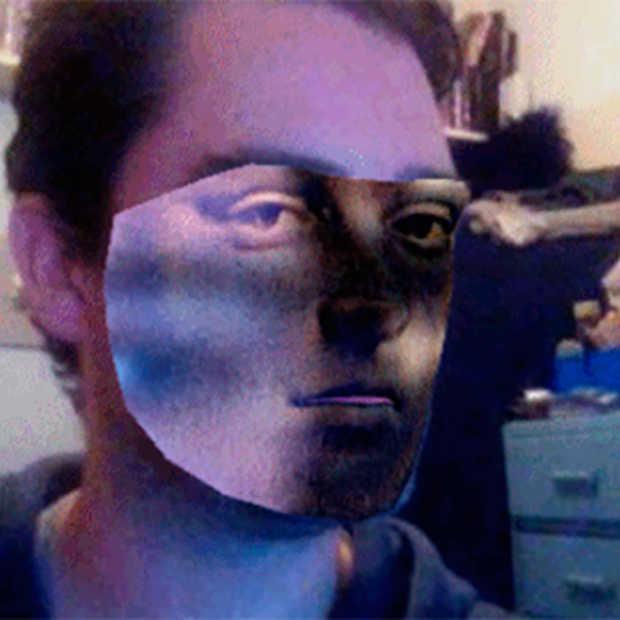 Geef je gezicht een masker in realtime met dit browser experiment