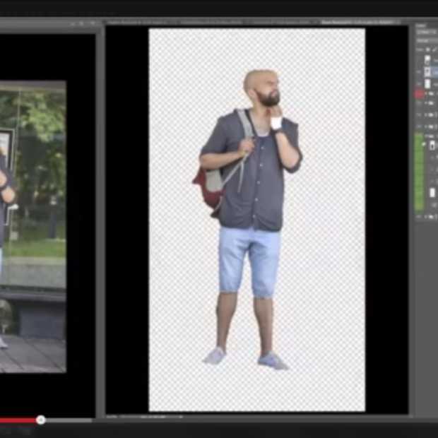 Geniale Zweedse 'Photoshop master'/fotograaf haalt live grap uit in bushokje