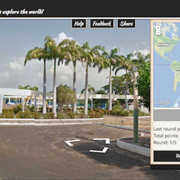 Geoguessr: raad via Google Street View waar je bent