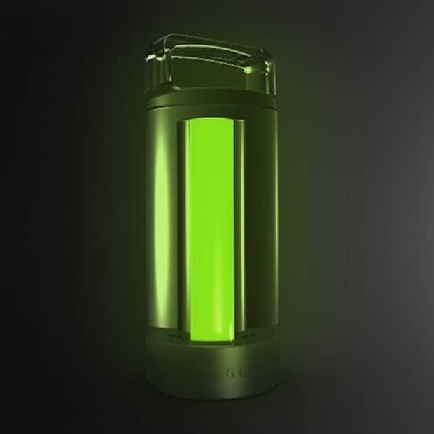 Glow is een lamp die natuurlijk licht afstraalt in het donker