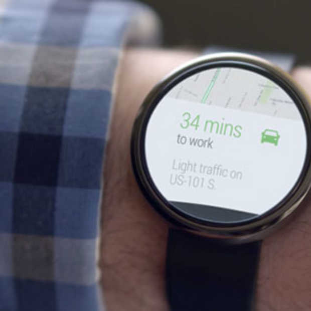 Google lanceert Android Wear voor smartwatches