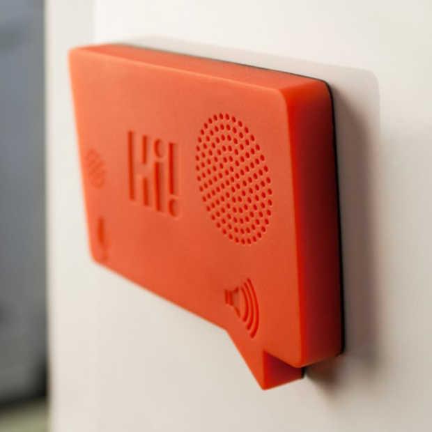Hi! Magnetic Voice Recorder: de nieuwe generatie post-its