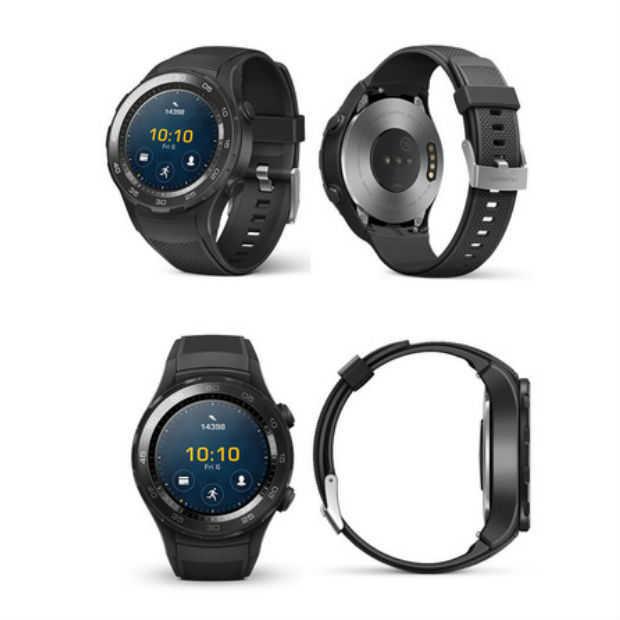 Huawei heeft een nieuwe smartwatch: de Huawei Watch 2