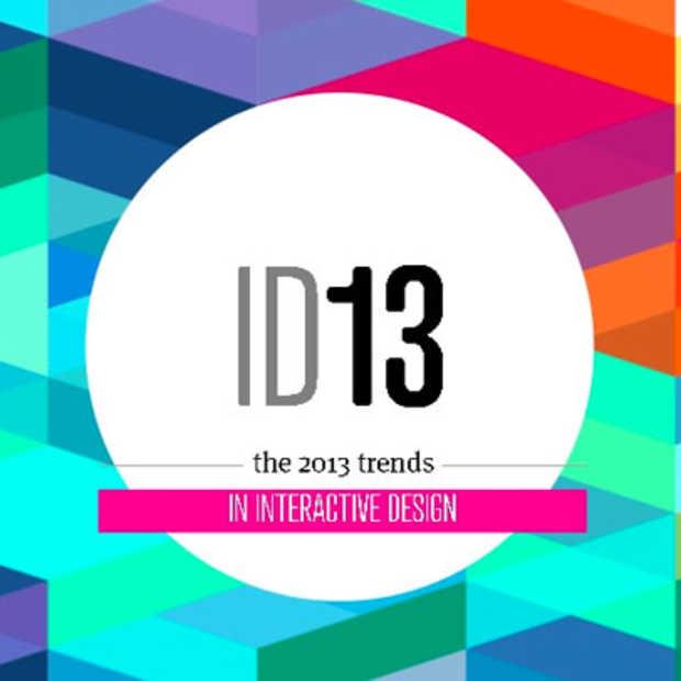 ID13: Prophets maakt voor de derde keer op rij een overzicht van de trends in interactive design