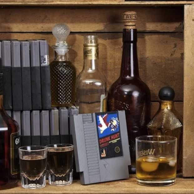 Ink Whiskey maakt een zakfles van Nintendo spelletjes