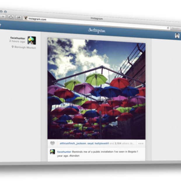 Instagram volledig te gebruiken via de website