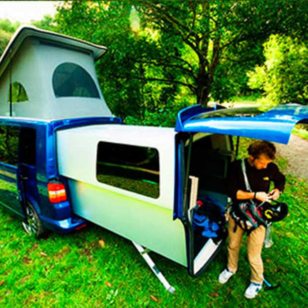 Is deze Volkswagen T5 Doubleback de ideale kampeerwagen?