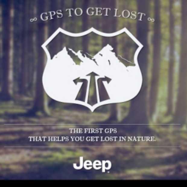 Jeep lanceert de 'Let's Get Lost' GPS
