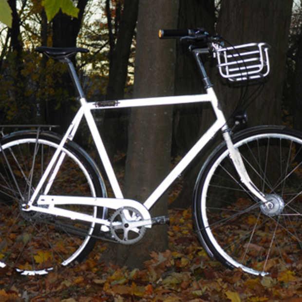 Josh Zisson's 100% reflecterende fiets