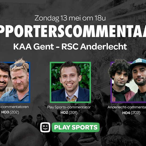 Kies voor supporterscommentaar bij KAA Gent – RSC Anderlecht