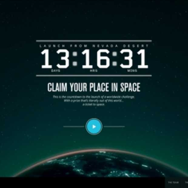 KLM Space Campaign: win je ticket naar de ruimte