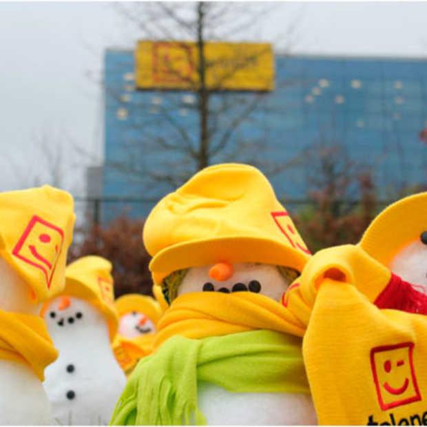 KPN laat het sneeuwen voor de deuren van Telenet, Belgacom & VOO