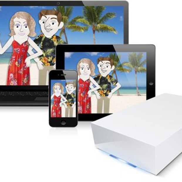 LaCie CloudBox: De familiale NAS