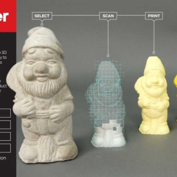 MakerBot Digitizer, een 3D Scanner voor de desktop