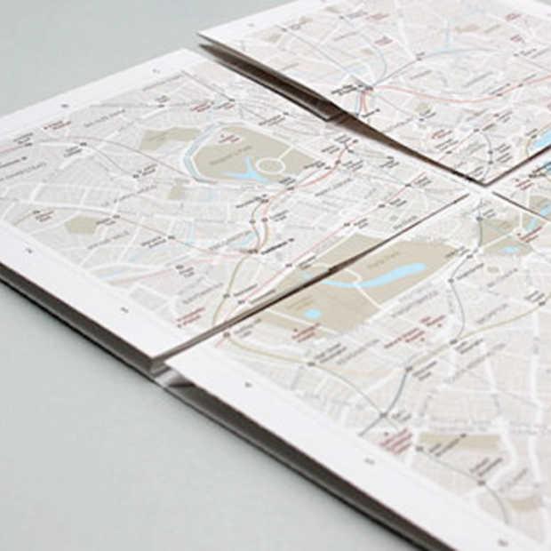 map²: een analoge kaart waarop je kan inzoomen