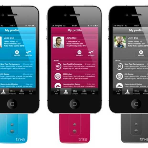 Meet je gezondheid op je iPhone met Tinké
