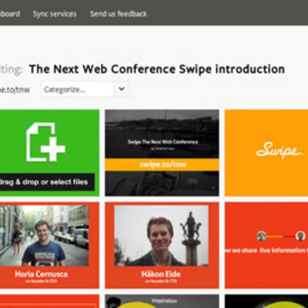 Met Swipe kan u op een nieuwe manier online presentaties maken & delen
