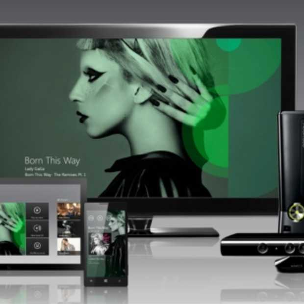 Microsoft lanceert volgende week webversie Xbox Music