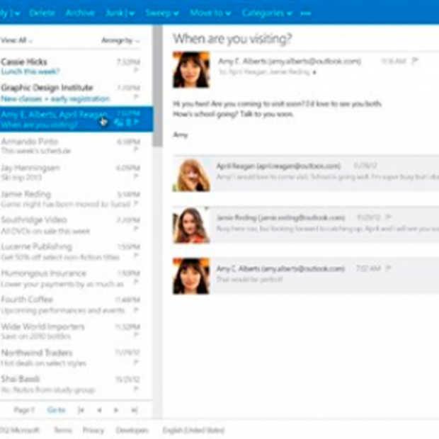 Microsoft start met migratie van Hotmail naar Outlook.com
