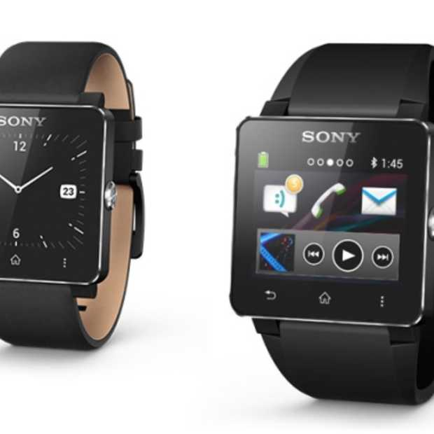 Multifunctionele Sony SmartWatch 2 voor Android vanaf september in de winkel
