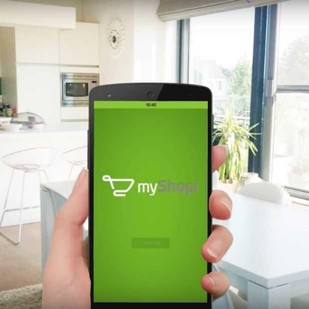 myShopi app overschrijdt de kaap van 1.000.000 downloads