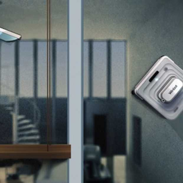 Na de robot stofzuiger nu ook de robot ramenwasser