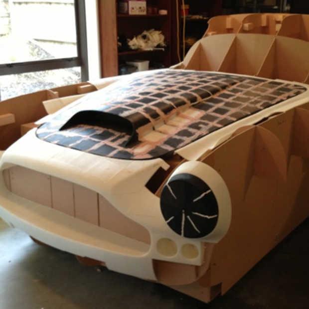Nieuw-Zeelander print Aston Martin uit met zijn desktop 3D printer