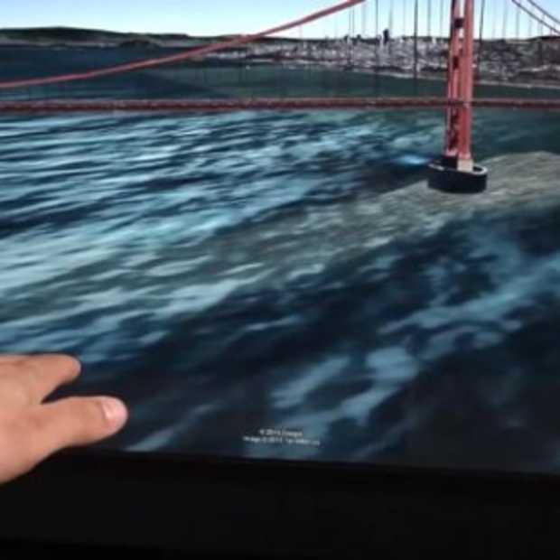 Nieuwe Google Earth 7.1 bestuur je voortaan met je vingertoppen via Leap Motion