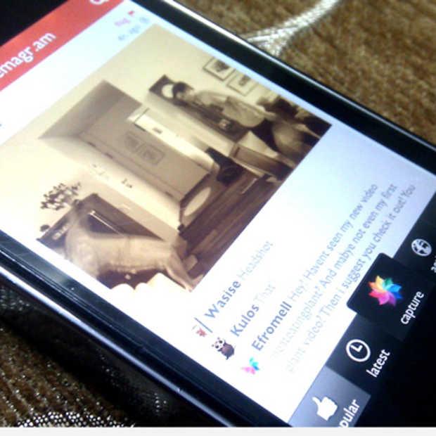 Nieuwe update Cinemagram met social tagging en nieuwe lay-outs