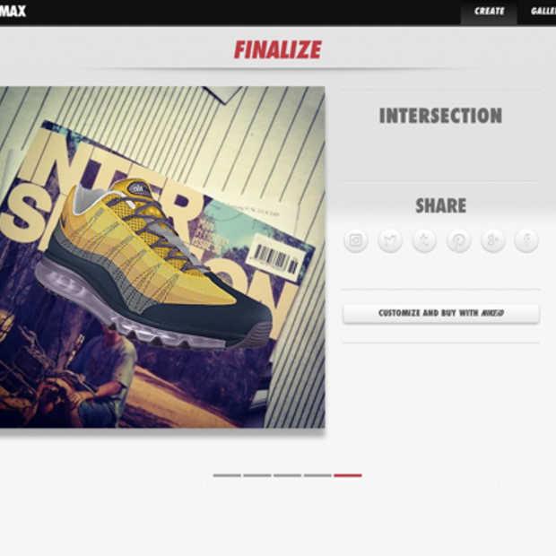 Nike PHOTOiD kiest een kleurenschema voor je schoen gebaseerd op je instagram foto's
