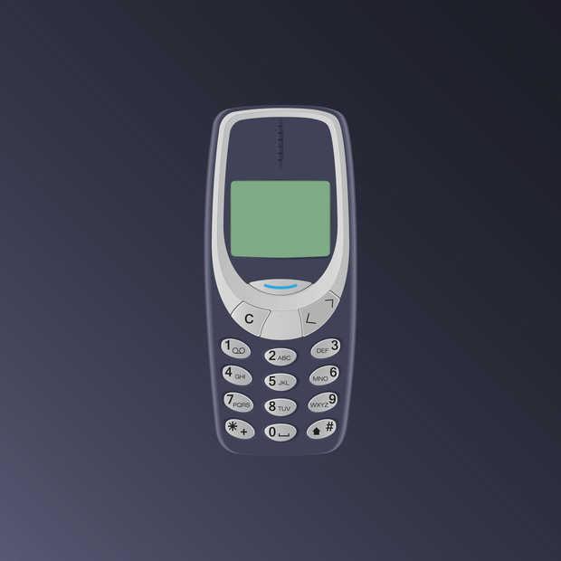 Nokia 3310 vanaf 5 juni in de winkel voor 60 euro!