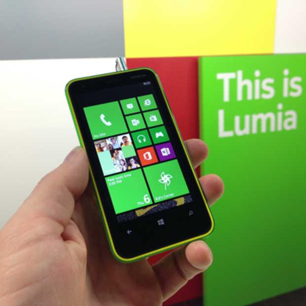 Nokia lanceert met de Lumia 620 een nieuw instapmodel